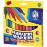 Flamastry trójkątne, 10 kolorów (314114001)